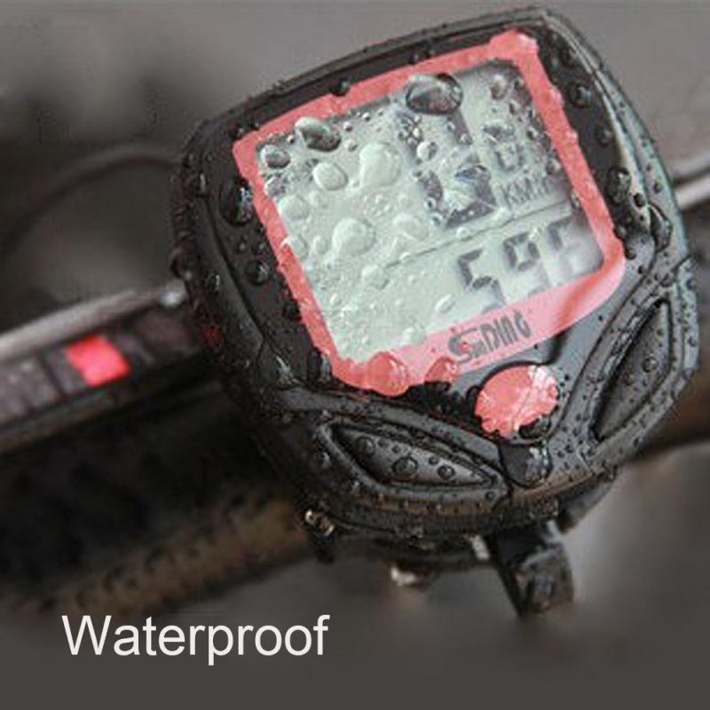 Bicycle Computer  riding computer Waterproof Bike Cycling Odometer Stopwatch Speedometer Watch LCD  Digital Rate Bike Accessorie