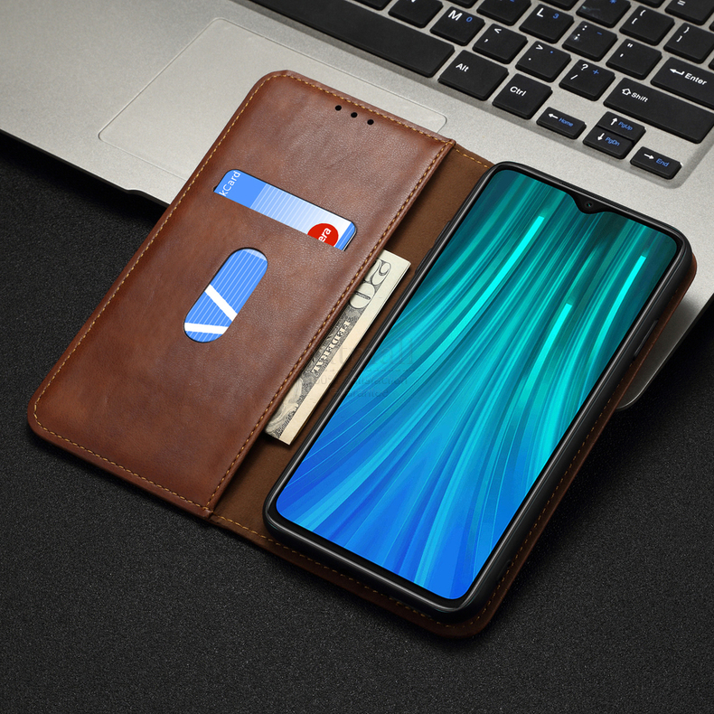 H026d3c4a680343f7a1c5d8300fd70414n Luxury Retro Slim Leather Flip Cover For Xiaomi Redmi Note 8 / 8T / 8 Pro Case Wallet Card Stand Magnetic Book Cover Phone Case