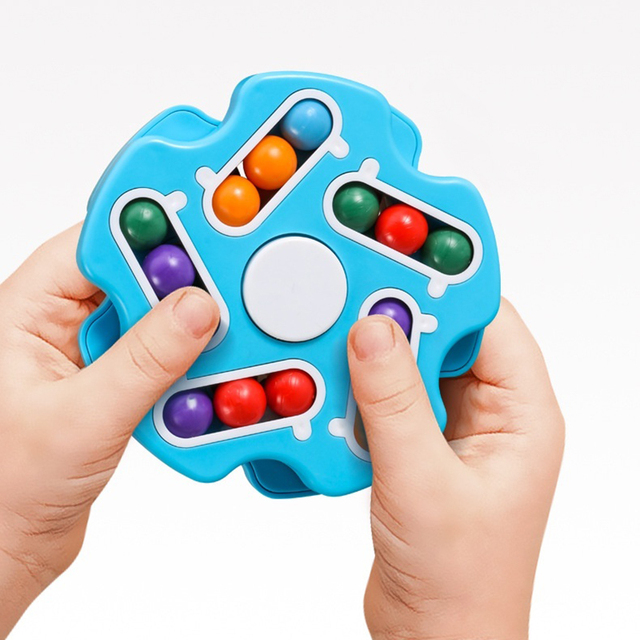 New Children Intelligence Rotating Magic Bean Fingertip Toy Adult Relieve Decompression Game 2