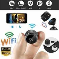 A9 мини камера 2,4G беспроводная Wifi 1080P HD камера ночного видения домашняя камера безопасности видеокамеры приложение удаленный монитор