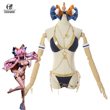 ROLECOS Tamamo no Mae FGO Game Cosplay Game Costume Swim Suit Women Costume Tamamo no Mae Fate Grand Order Cosplay Accessories