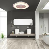AC 220V LED Decke Fan Lampe Dimmen Und Fernbedienung Für Wohnzimmer Kinder Schlafzimmer Dekoration-in Deckenventilatoren aus Licht & Beleuchtung bei