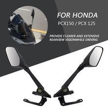 Rétroviseurs arrière de moto en aluminium | Guidon rétroviseur arrière, rétroviseur arrière, Modification accessoires pour Honda PCX 150 125 pcx 125