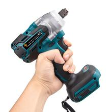 Rechargable-Drill-Driver Battery Impact-Wrench 18v Cordless Brushless For Makita