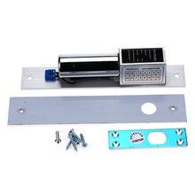 Elektrikli cıvata gömme kapı kilidi elektronik akıllı paslanmaz çelik ağır arıza güvenli damla kapı erişim kontrolü güvenlik