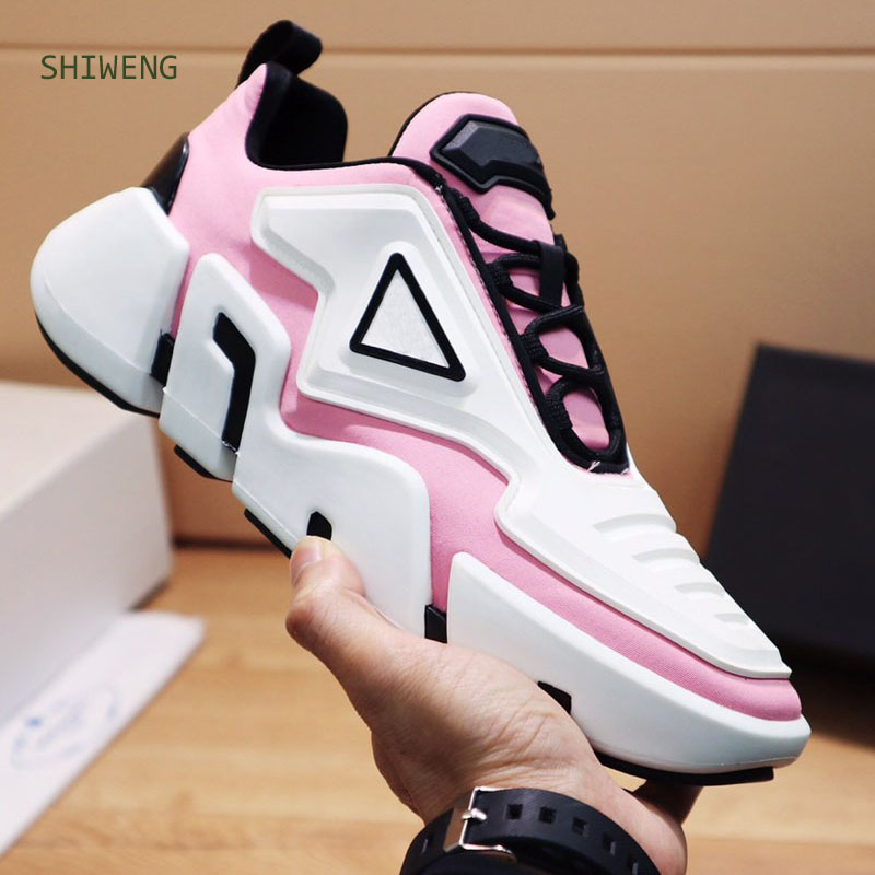 2021 Summerr Couple High Street Sport Shoes Raising Platform Sneakers High Quality Lace Up Outdoor Sport Shoes Trainers 35-44