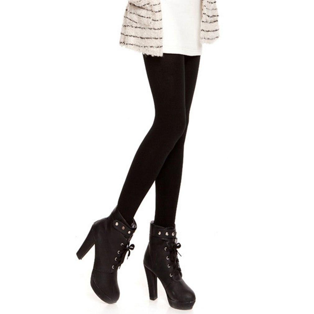 Women Warm Leggings 2018 New Women Soft Autumn Winter Warm Pants Casual Female Solid Leggings Trousers Female Velvet Leggings