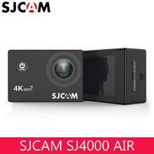 "Original SJCAM SJ4000 AIR 4K 30fps WIFI Action Camera Full HD 2.0"" Screen SJ 4000 Mini Helmet Waterproof Extreme Sport DV Camera(China)"