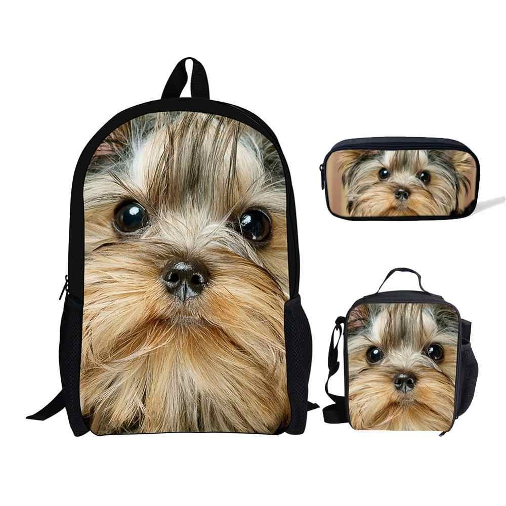 Personalised Cute Puppy Dogs Boys Girls Kids Children/'s School Bag Backpack