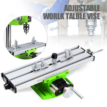 Milling-Machine Precision Vise-Fixture Coordinate-Table Bench-Drill Parallel-Jaw Multifunction