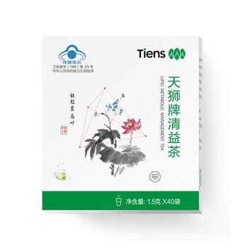CN Health Food Tiens Tianshi Lipid-Lowering Tea 1.5G/Grain * 40 Bags недорого