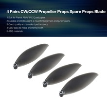 4 Pairs CW/CCW Propeller Props Spare Blade for Parrot ANAFIRC Aerial Drone Quadcopter Aircraft Parts Accessories