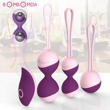 Kegel – boules vibrantes pour femme, jouet sexuel, avec télécommande, exercice de serrage du vagin, Ben Wa Geisha, rétrécissement des muscles