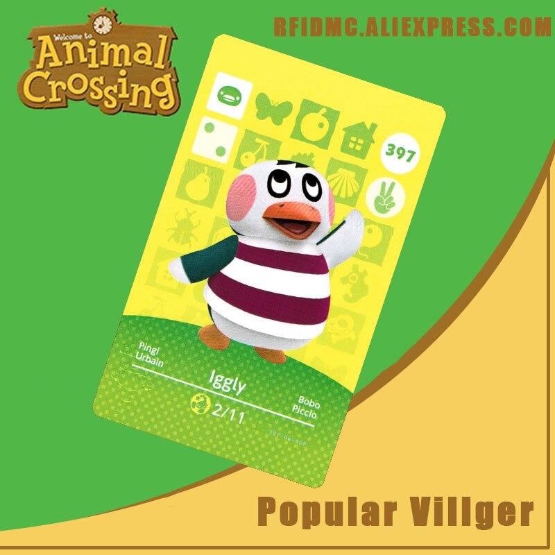397 Iggly Animal Crossing Card Amiibo For New Horizons