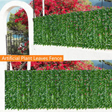 Protected Balcony-Screen Screening-Roll Garden-Fence Privacy Wall Artificial-Leaf Hedging