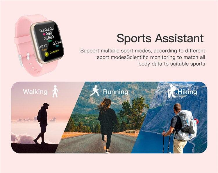 H02704369622a4fffaeef93b11984e502s Oxygen Monitor Smart Watch 2020 Blood Pressure Smartwatch
