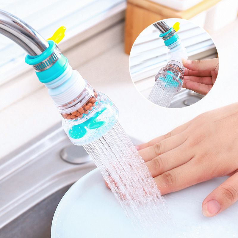 Kitchen Faucet PURIFIER-NOZZLE-FILTER Sprayers Shower-Tap Water-Saver Rotation Household