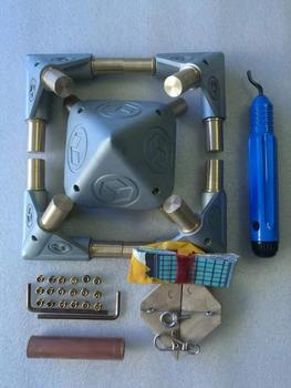 Giza Meditation Pyramid Kit PGTO-16 (No plating on the surface,without copper tube) Suitable for 5/8\ tubes