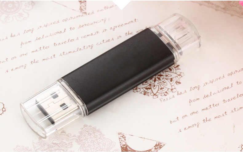 128gb 64gb usb lecteur flash 32gb double stylo fonctionnel lecteur 16gb OTG clé usb 8gb 4gb usb2.0 clé usb pour téléphone