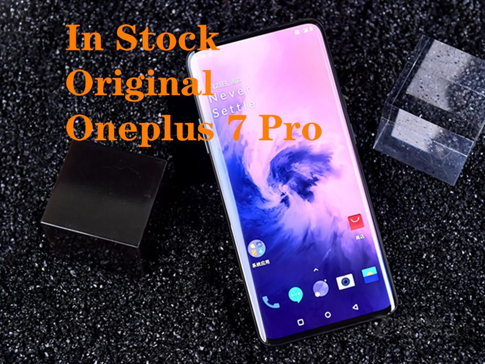"""Global ROM New Oneplus 7 Pro Smartphone 6.67"""" Snapdragon 855 AMOLED Screen 48MP 12G RAM 256G ROM 30W Charger 4000mAh NFC Cellphones  - AliExpress"""