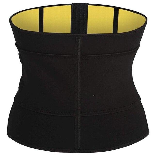 Body Shaper Waist Tummy Control Belt Sauna Slimming Strap Fitness Sweat Shapewear for Fat Burner Shaping Underwear Waist Cincher