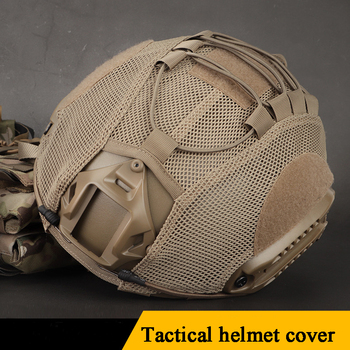 Military Airsoft Helmet Cover Tactical Fast Helmet Mesh Cover Cs Wargame Helmet Gear Cover Hunting Shooting FAST Helmets Cover цена 2017