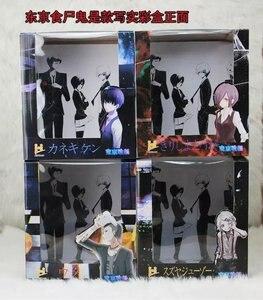 Image 5 - Tokyo Ghoul Figurine danime Kaneki Ken Juzo Suzuya Rei Uta Touka Kirishima Réaliste Ver Modèle PVC Poupée de Collection 12 ~ 15cm