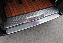 For Mercedes-Benz Vito W447 2016 2017 2018 Stainless Steel Rear Trunk Door Sill Tail Gate Bumper Guard Plate Car Accessories abs car accessories car body kits exterior rear bumper foot plate 1pcs for 2018 mercedes benz vito