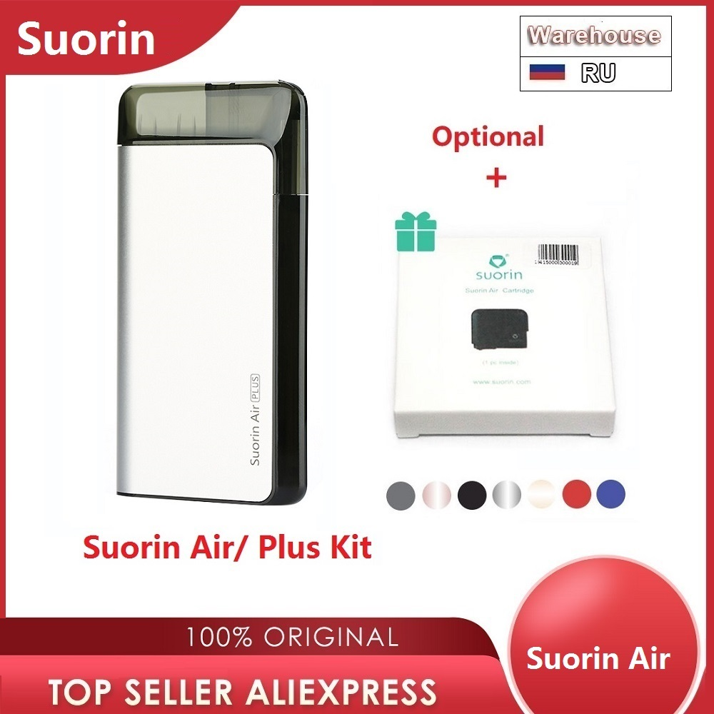 Original Suorin Air Plus Kit W/ 930mAh Battery & 3.5ml Pod VS Suorin Air Kit 400mAh Battery & 2ml Pod Vs Minifit / Drag Nano/