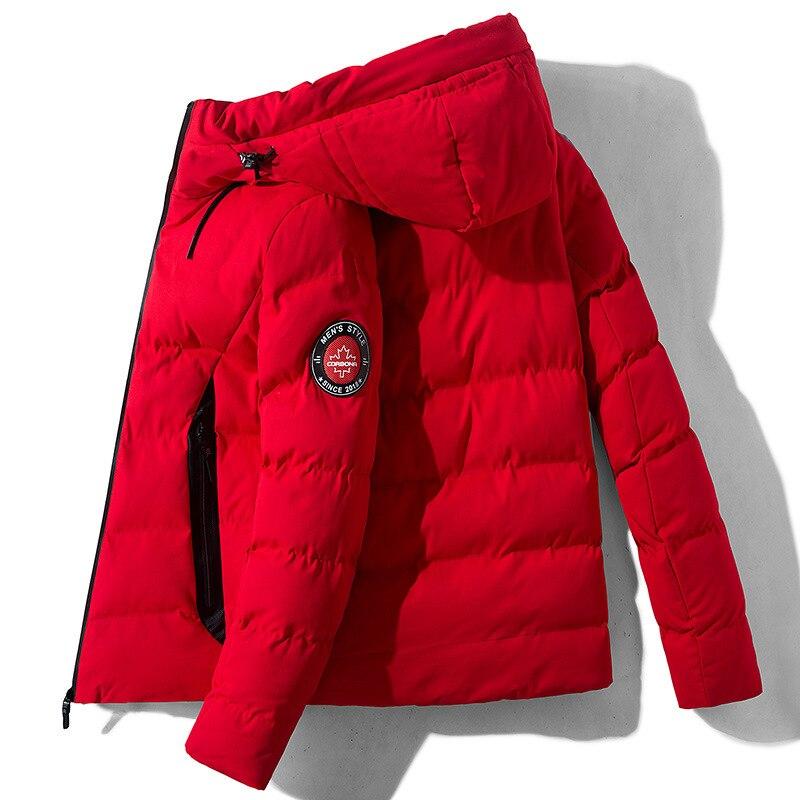 New Winter Jackets Parka Men Autumn Cotton Warm Hooded Outwear Brand Slim Mens Coats Casual Windbreaker Quality Jackets Men