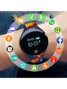 Moda sport ceas copii copii ceasuri pentru fete baieti electronice led digital ceas de mână