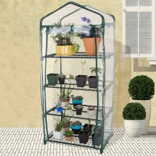 Greenhouse Plate Cover Garden Heating House PVC Garden Warm House Multi-level Small Flower House