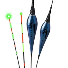 Practical LED Electric Fishing Float Luminous Deep Water Vertical Buoy Bobber Multipurpose Equipment