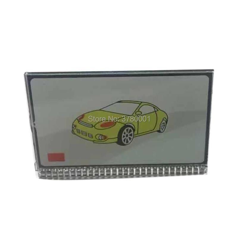 LCD Display For Russian 2 Way Car Alarm System Scher-Khan Magicar 7 Key Chain Scher Khan M7 Lcd Remote Control Keychain FOB