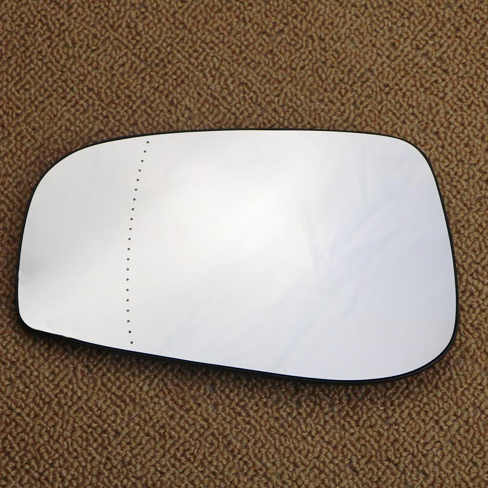 Left passenger side Wing mirror glass for Mitsubishi Lancer 07-16 Heated
