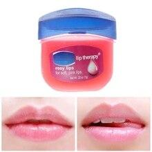 1pcs New Rose Flavor Vaseline Hand Lip Cream Moisturizing Skin Care Keep Hydrating 7g Rosy Lips Free Shipping