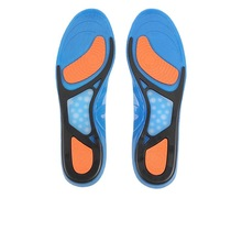 High stretch silicone insole with thick super soft men's basketball running insole