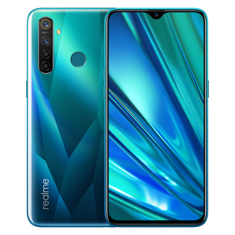 """Image 2 - Original Oppo Realme Q Mobile Phone Snapdragon 712 AIE 4305mah Android 9.0 6.3"""" Full Screen 4GB RAM 64B ROM 48.0MP Fingerprint-in Cellphones from Cellphones & Telecommunications"""