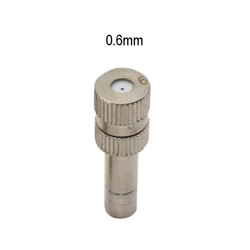 1 Pc Low Pressure High Quality Atomizing Misting Nozzle Spray Injector Atomization Head Mister Mist Spraying System Nozzle in Sprayers from Home Garden