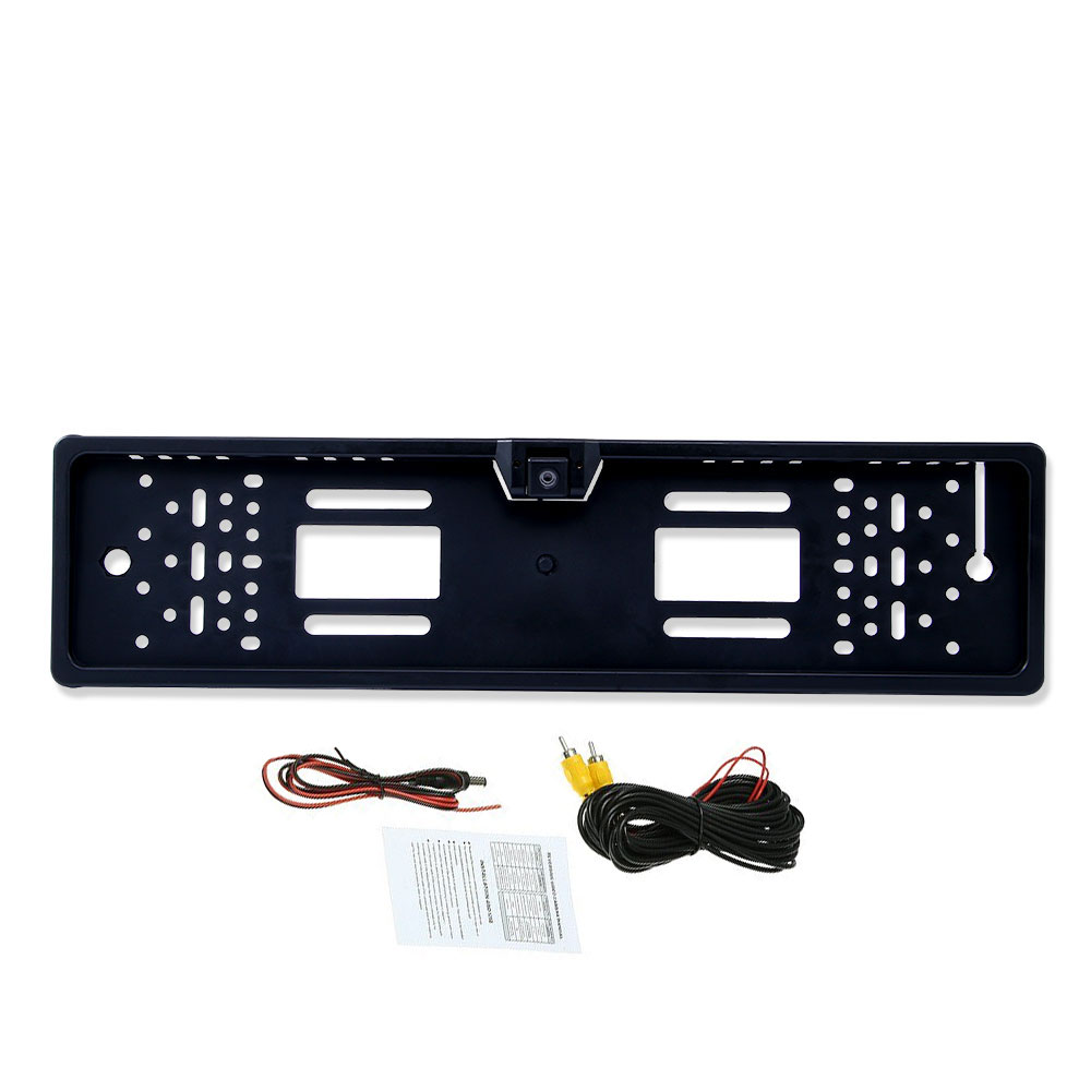 Camera License-Plate-Frame Car-Rear-View-Camera No-Led-Light Reverse-Backup Waterproof title=