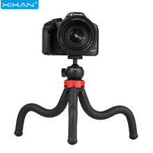 Portable Phones Camera Tripod Stands Octopus Tripods Holder With Clip Handheld Selfie Sticks Tripode Para Movil Bracket Monopod tripod weifeng wf 3958m camera tripods monopod slr camera portable travel tripods support foot tripods