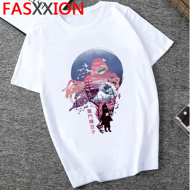 H0272dd5eee5d45a5ac13da7617198484v - Demon Slayer T-shirt  Graphic Tees Men Streetwear  Japanese Anime Cool Tshirt Funny Cartoon Kimetsu No Yaiba T Shirt Male
