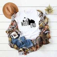 Женские рубашки Летние повседневные футболки милые топы в стиле