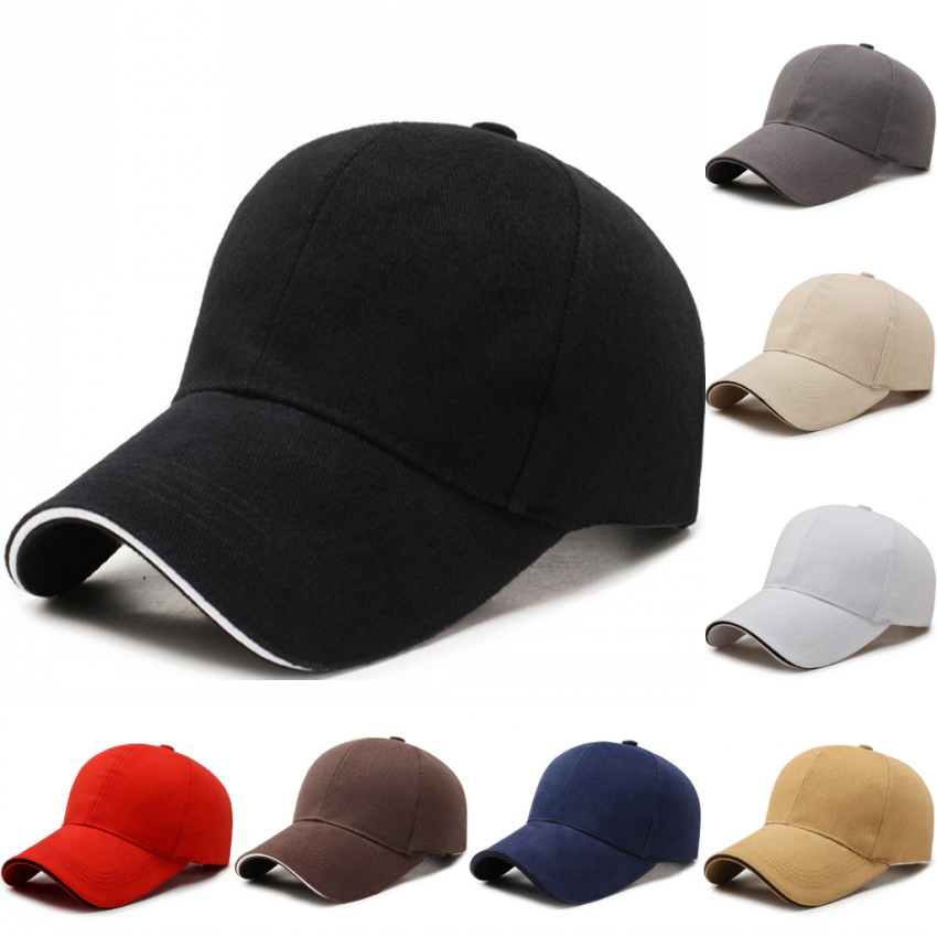 Men's Cotton Classic   Baseball     Cap   Adjustable Buckle Closure Dad Hat Sports Golf   Cap