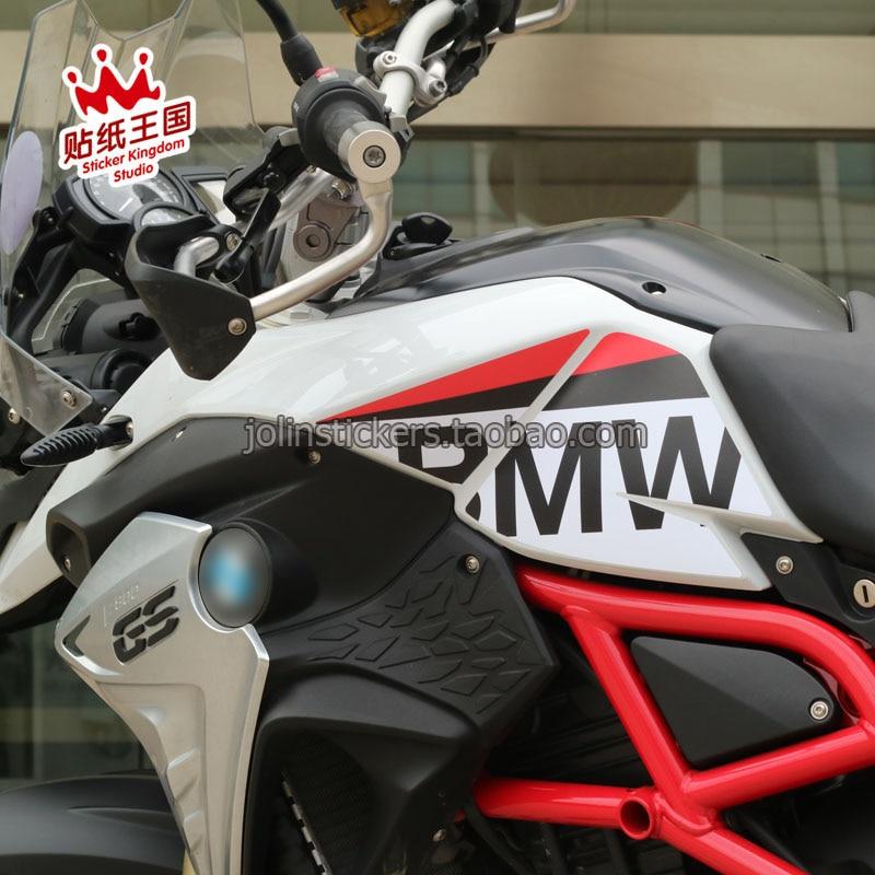 1 пара для BMW F800GS 2013 2017 комплект танк колодки переводная картинка наклейка для мотоциклов Водонепроницаемый м 23