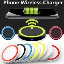 New Mini Fast Wireless Charger For Samsung USB Qi Charging P