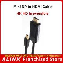 ALINX Active MiniDP to HDMI 4K HD Adapter Cable Converter Displayport
