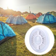 5V 25W Round LED Lamp Camping Light With USB Charging Built-in Battery with Hook for Night Market