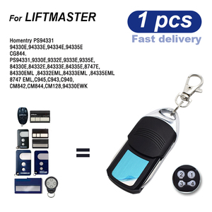 Image 3 - Liftmaster 94335E Motorlift Chamberlain 84335EML Garage Door Remote Control Wireless Transmitter 433.92mhz Rolling Code