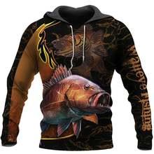 Осенний пуловер с рисунком животного tessвам Камуфляжный рыболовный